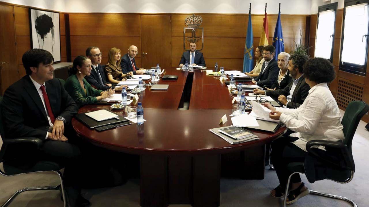 Consejo de gobierno de Adrián Barbón