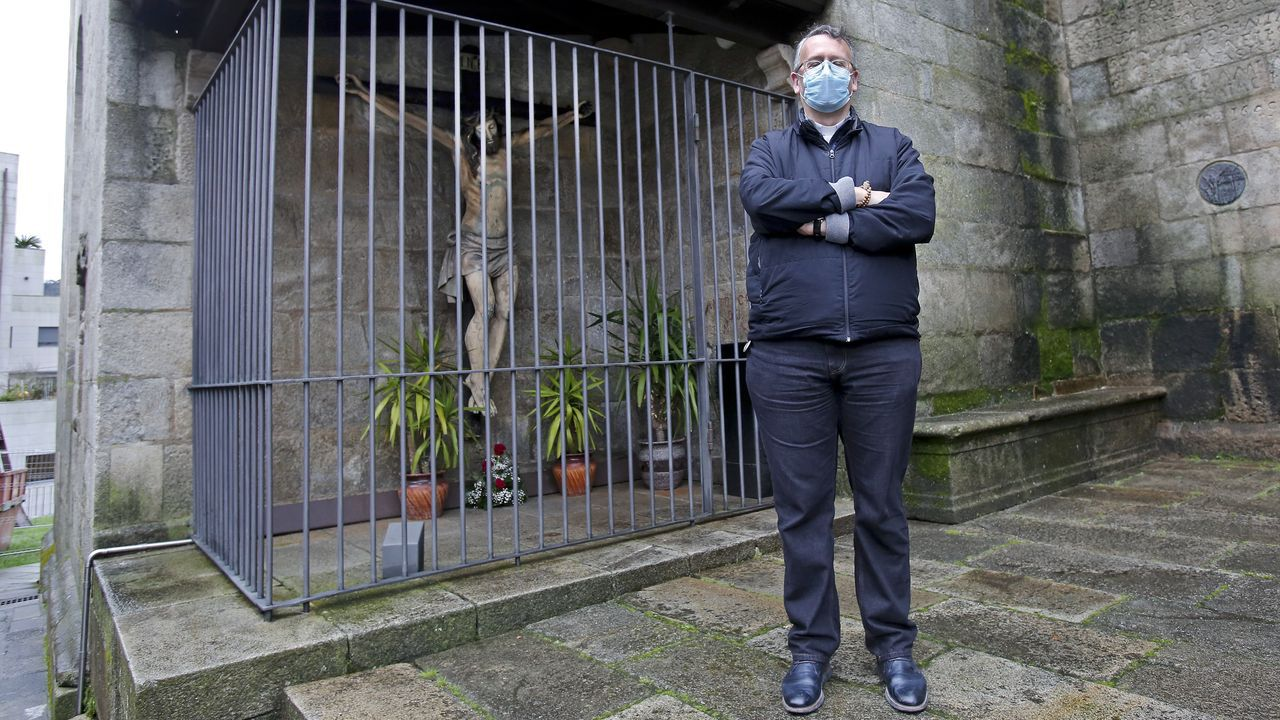 Algunas propiedades de la iglesia en Galicia.El servicio de teleasistencia de la Cruz Roja, funcionando durante la pandemia.