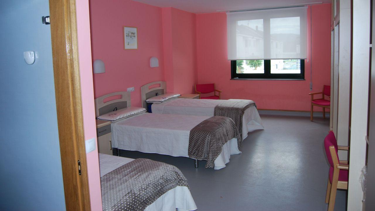 Interior de la residencia de Aspromor, equipada desde hace cinco años y sin uso