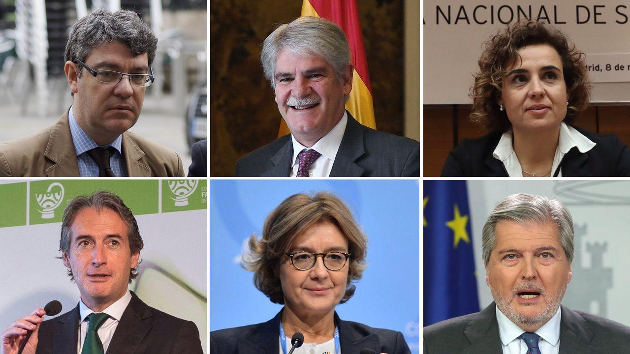 Las caras que pasan más desapercibidas del Gobierno de Rajoy.Celebración dunha sardiñada popular na localidade coruñesa de Mera con motivo das festas populares