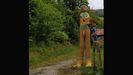 La polémica escultura del escanciador desnudo