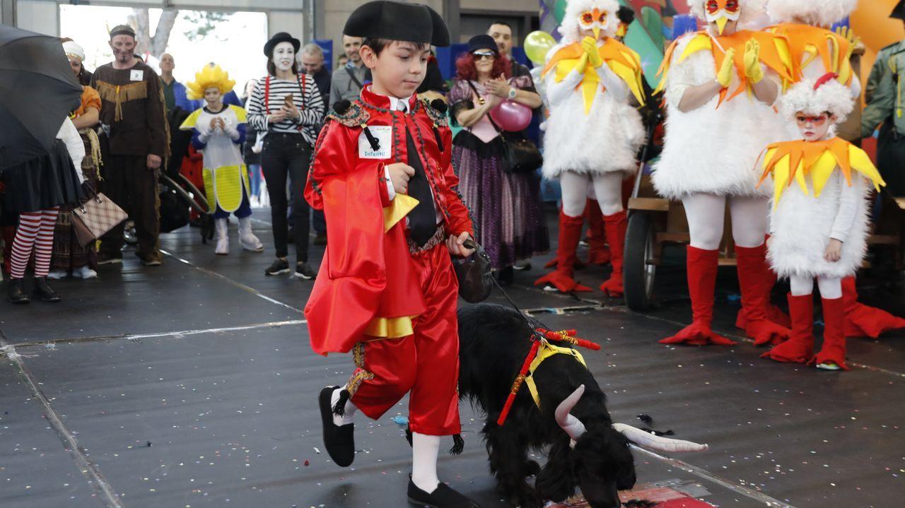 San Cibrao celebró un concurso de disfraces