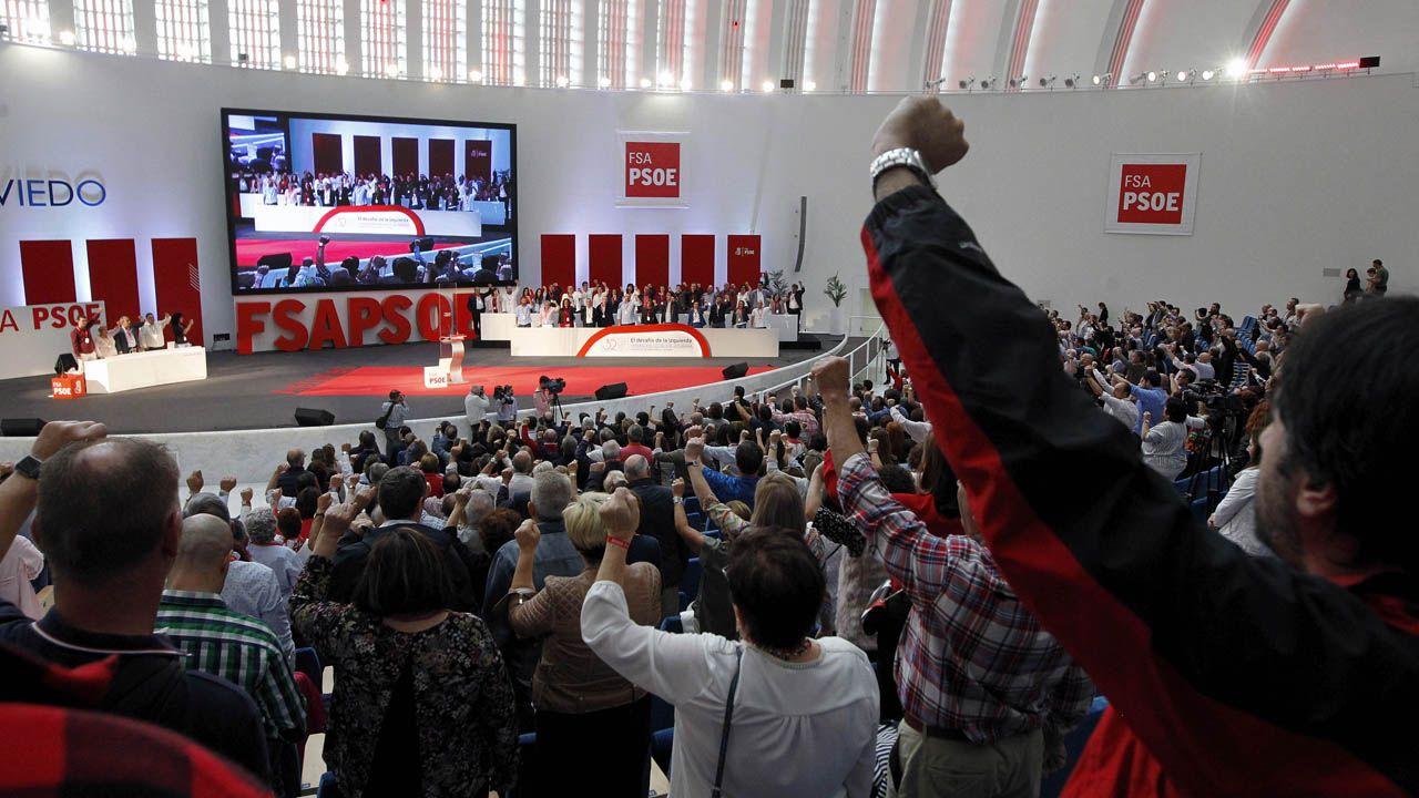 Clausura del 32 Congreso de la Federación Socialista Asturiana