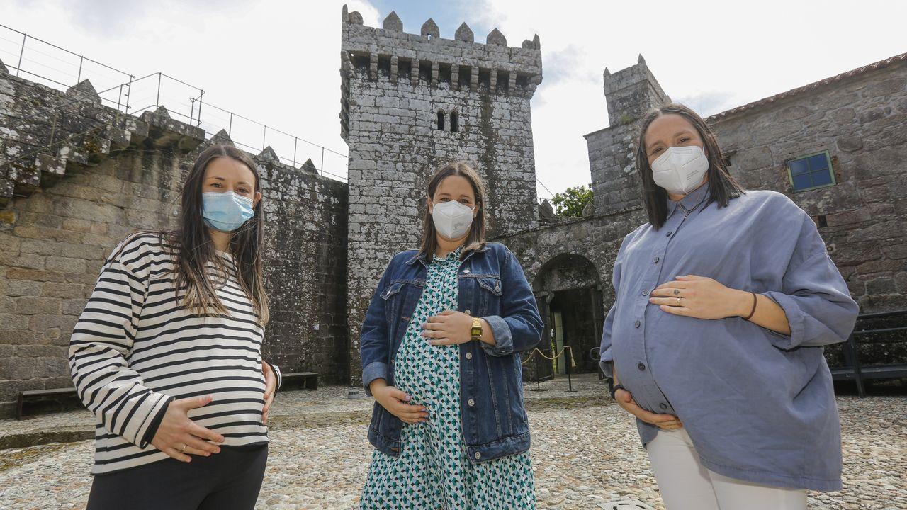 El pasado sábado estaban citados para vacunarse cerca de 1.500 barbanzanos mayores de 70 años