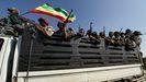 Milicianos del Frente Popular de Liberación de Tigray (TPLF)