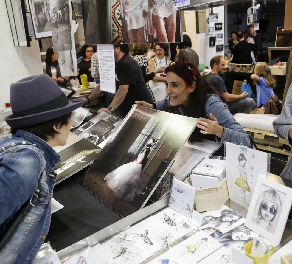 Huella gallega en la última película deCapitan América.Dibujos, ilustraciones, fotografía o joyas formaban parte de la propuesta de objetos únicos.