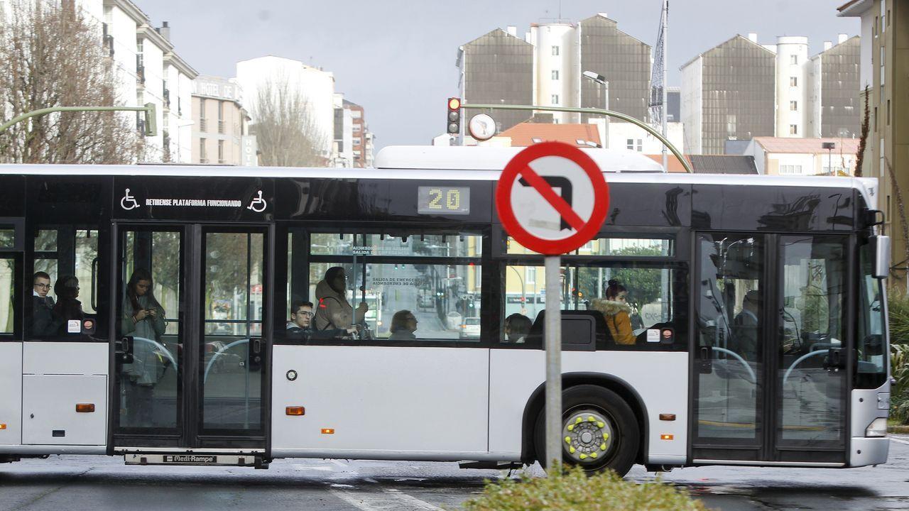 Control a un autobús