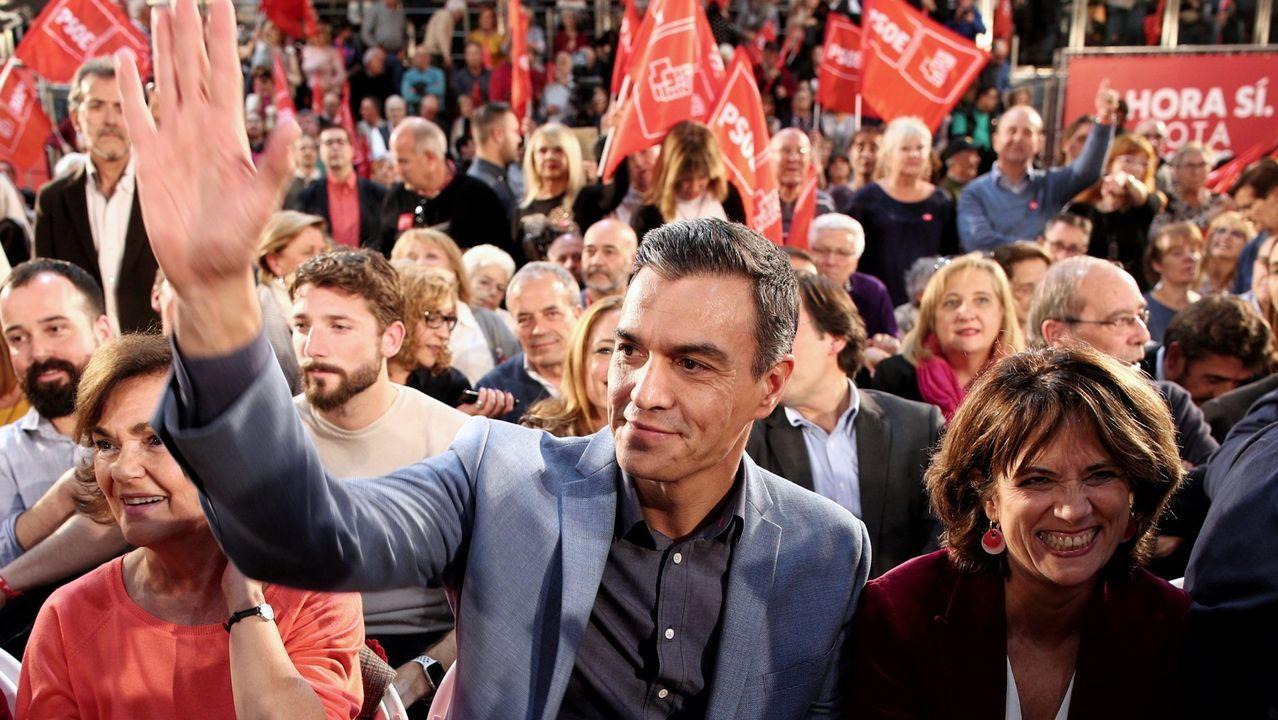Quim Torra, este miércoles, en una reunión con sus consejeros en el palacio de la Generalitat