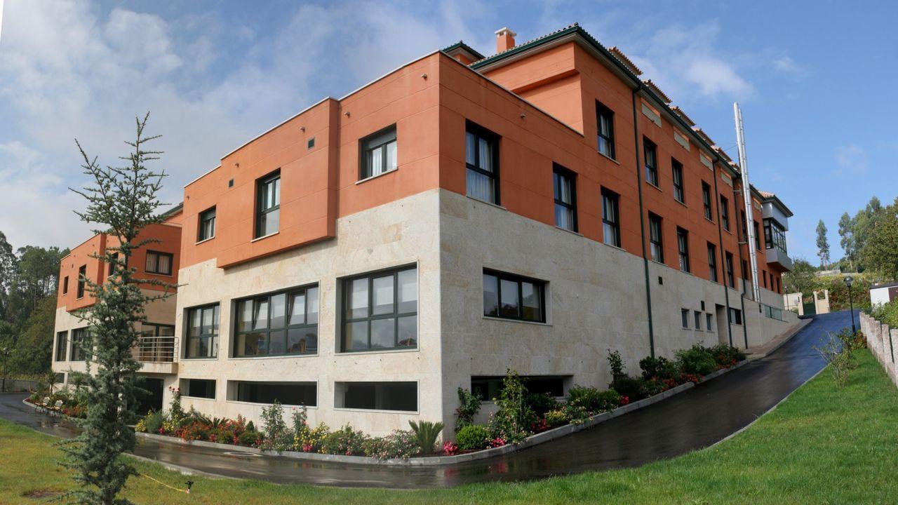 Vacunación contra el covid en Bembrive, Vigo.Residencia Mi Casa, en Pazos de Borbén