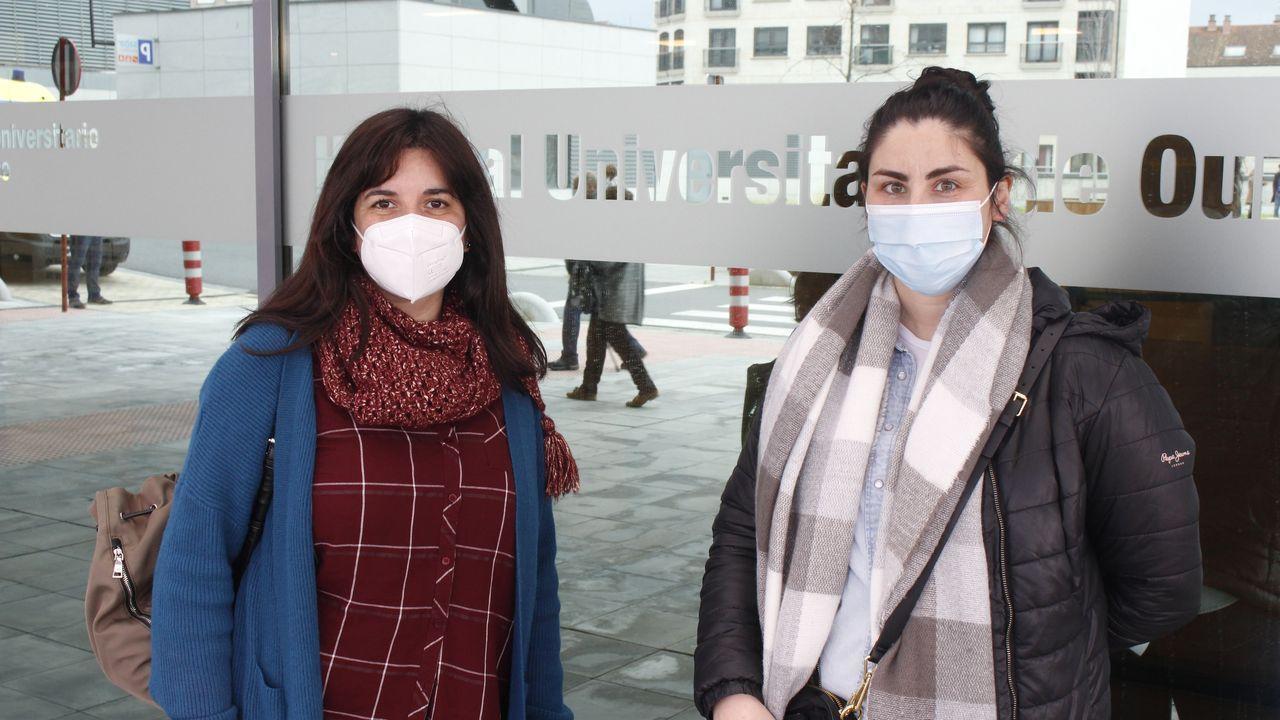 Lorena y Paloma son profesoras en el IES de Vilamarín