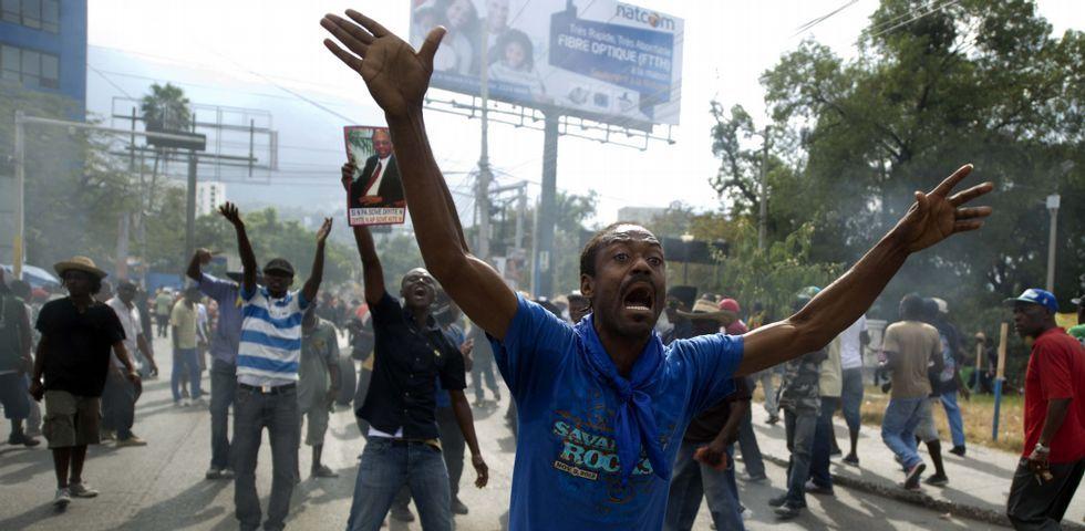 Evolución de las vistas nocturnas de Siria en los últimos años.Las protestas contra el Gobierno de Michel Martelly se han repetido en los últimos días por las calles de Puerto Príncipe.