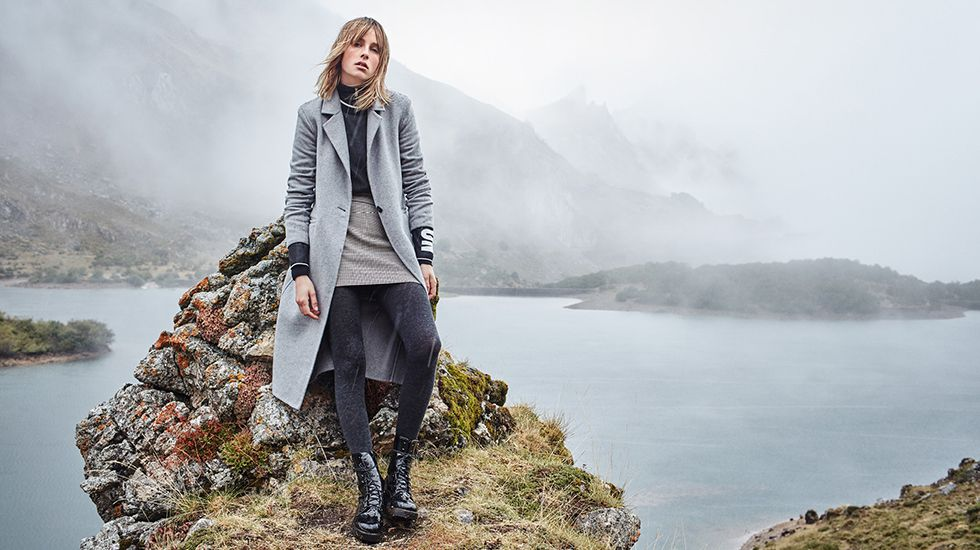 MANGO AW16 November Campaign: The great outdoors.Tim behrens en 1999