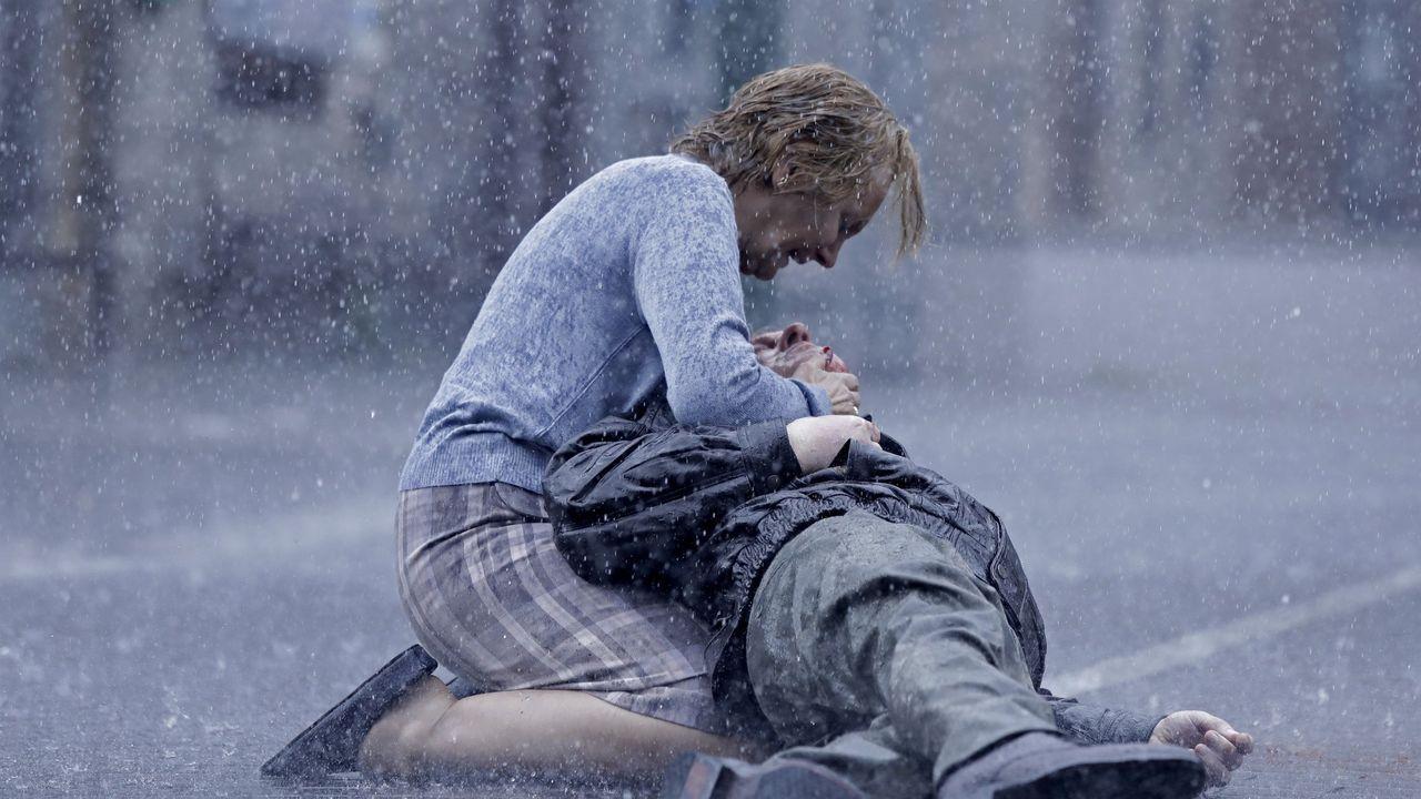 Una de las escenas de la serie de HBO basada en la novela «Patria»