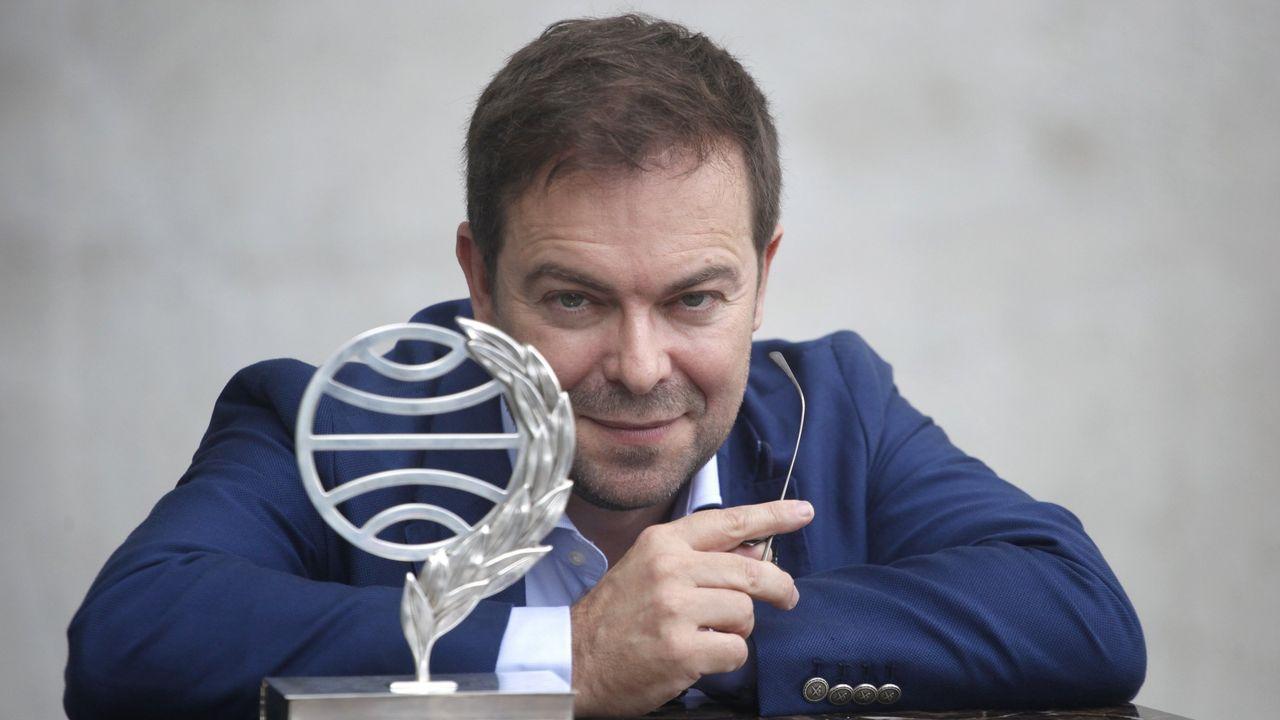Javier Sierra ganó el Planeta en el 2017