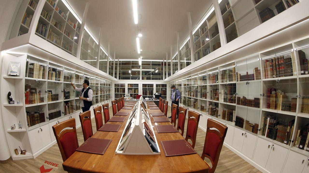 La biblioteca ilustrada casi ha duplicado su capacidad