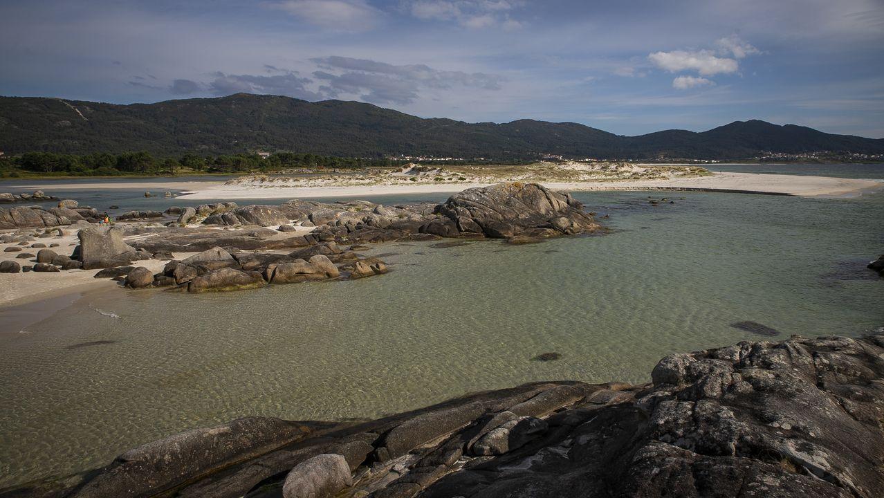 Playa de Boca do Río, en Carnota