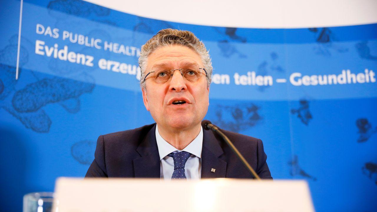 Lothar Wieler es el máximo responsable del instituto alemán