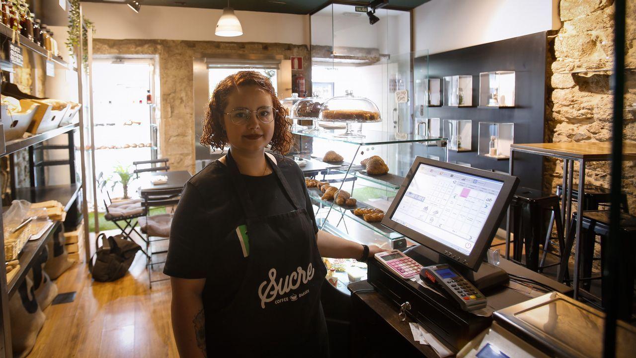 En la pastelería Sucre, la caja es de momento, el único control horario