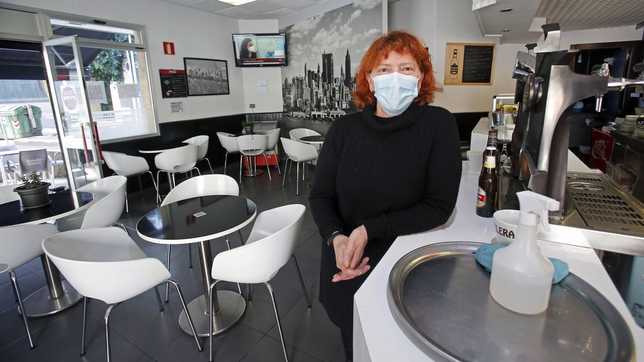 Mónica Aragunde, propietaria del Café Chalo de Pontevedra