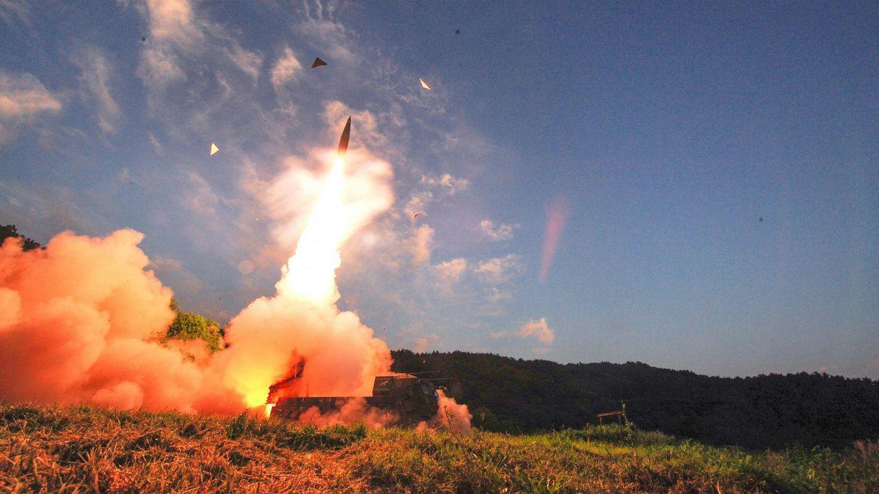 Pruebas militares en Corea del Sur