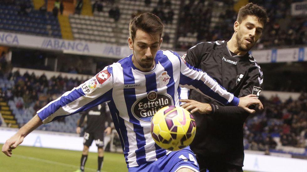 Isaac Cuenca, llamado a ser el desequilibrio en el Deportivo, nunca tuvo regularidad en sus actuaciones.