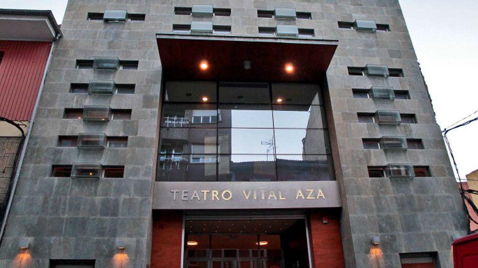 Teatro Vital Aza, en Pola de Lena