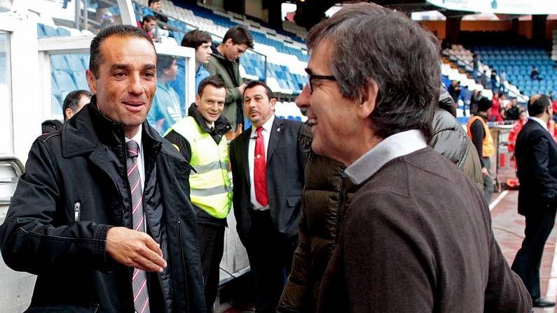 Toda la actualidad de la jornada de Segunda división.Oltra, con Vázquez antes del partido