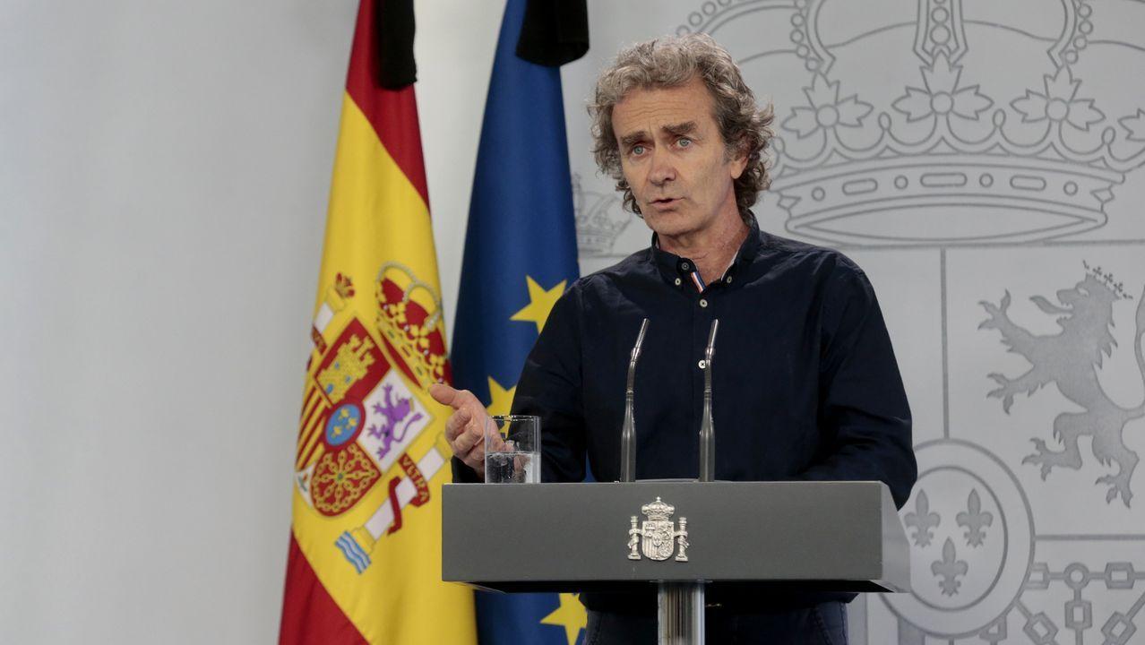 Fernando Simón, encargado de dar los datos de evolución de la pandemia a nivel nacional