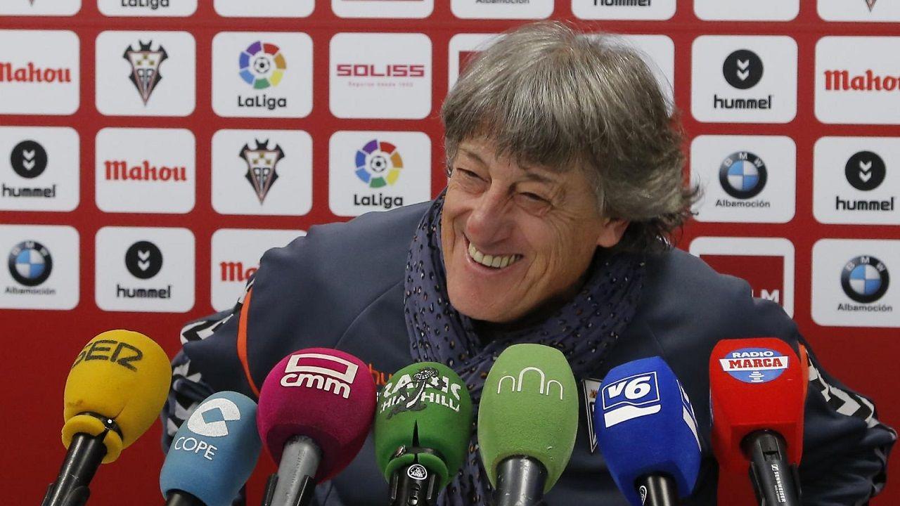 Enrique Martin Monreal Albacete.Enrique Martin Monreal, en rueda de prensa