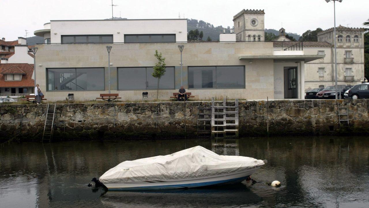 Estacion marítima de Camposancos, en A Guarda
