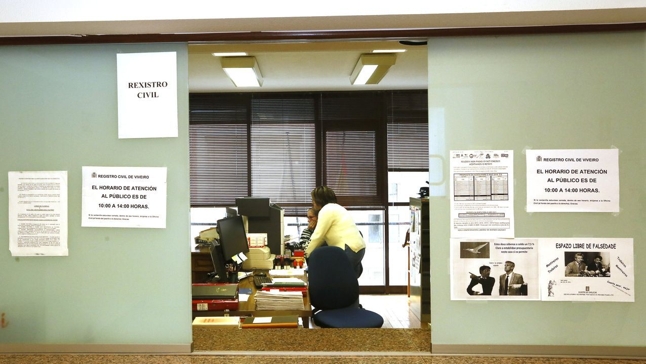 Mariñanos en FITUR.Imagen de archivo de los juzgados de Viveiro