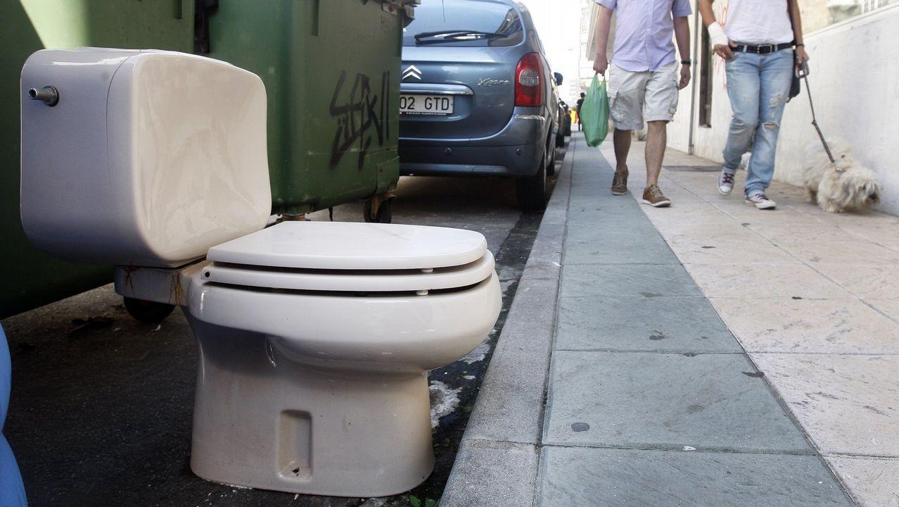 Wáter en la calle