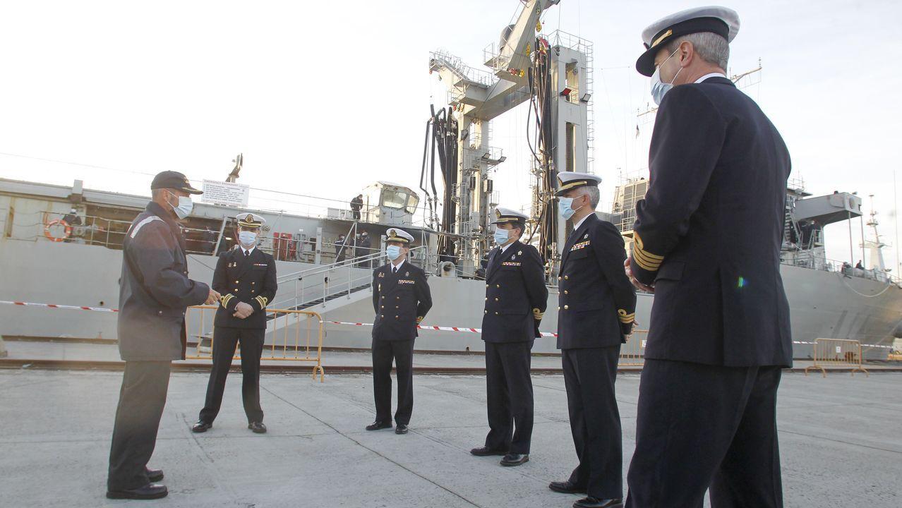 El Patiño regresa a Ferrol tras su despliegue en la agrupación permanente de la OTAN número 2.A Gándara concentra superficies divididas entre Ferrol y Narón, como Alcampo y Odeón
