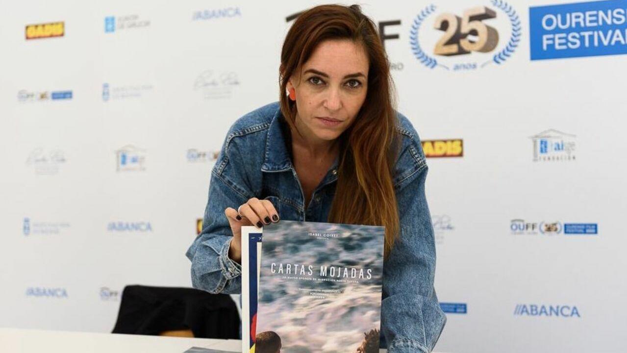 Fin ao primeiro cuarto de século do OUFF.Elena Cuerda, hija del cineasta albaceteño José Luis Cuerda