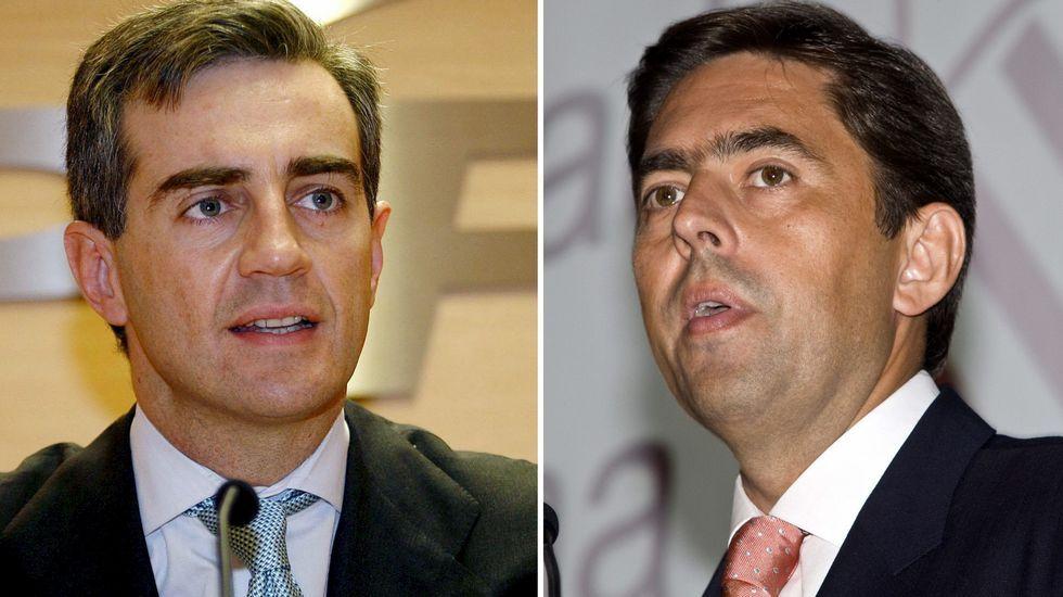 Valencia Summit 2004-2005.Ricardo Costa y Vicente Rambla, en una imagen de archivo