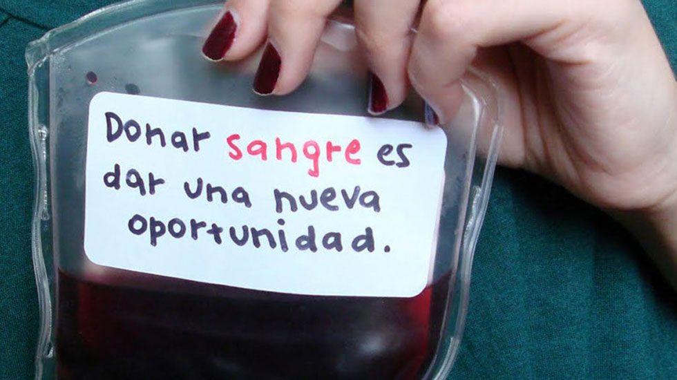 Imagen promocional de la Hermandad de Donantes de Sangre de Asturias