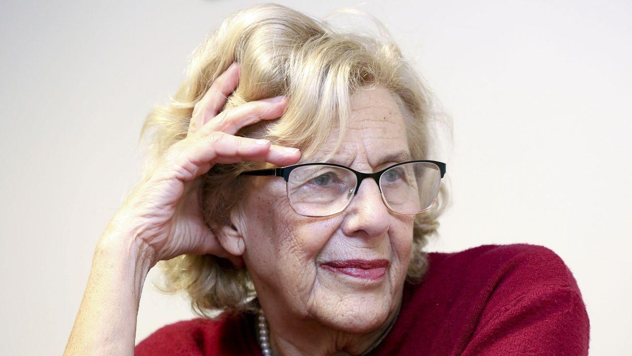 Manuela Carmena, jurista y excaldaldesa de Madrid