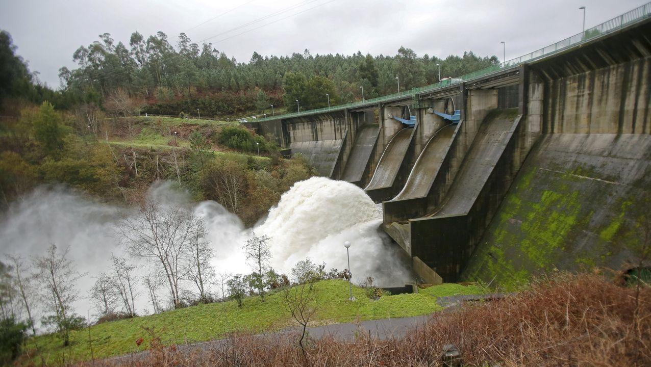 El embalse del Umia, en una imagen de archivo, tiene un aprovechamiento hidroeléctrico que explota Cortizo