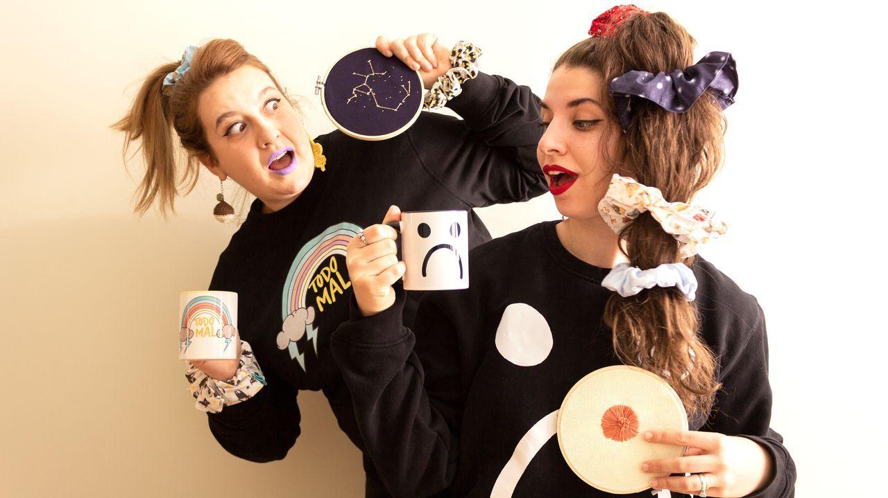 Lora González y Noelia B. Rodríguez, llenas de complementos Salsa Gaucha