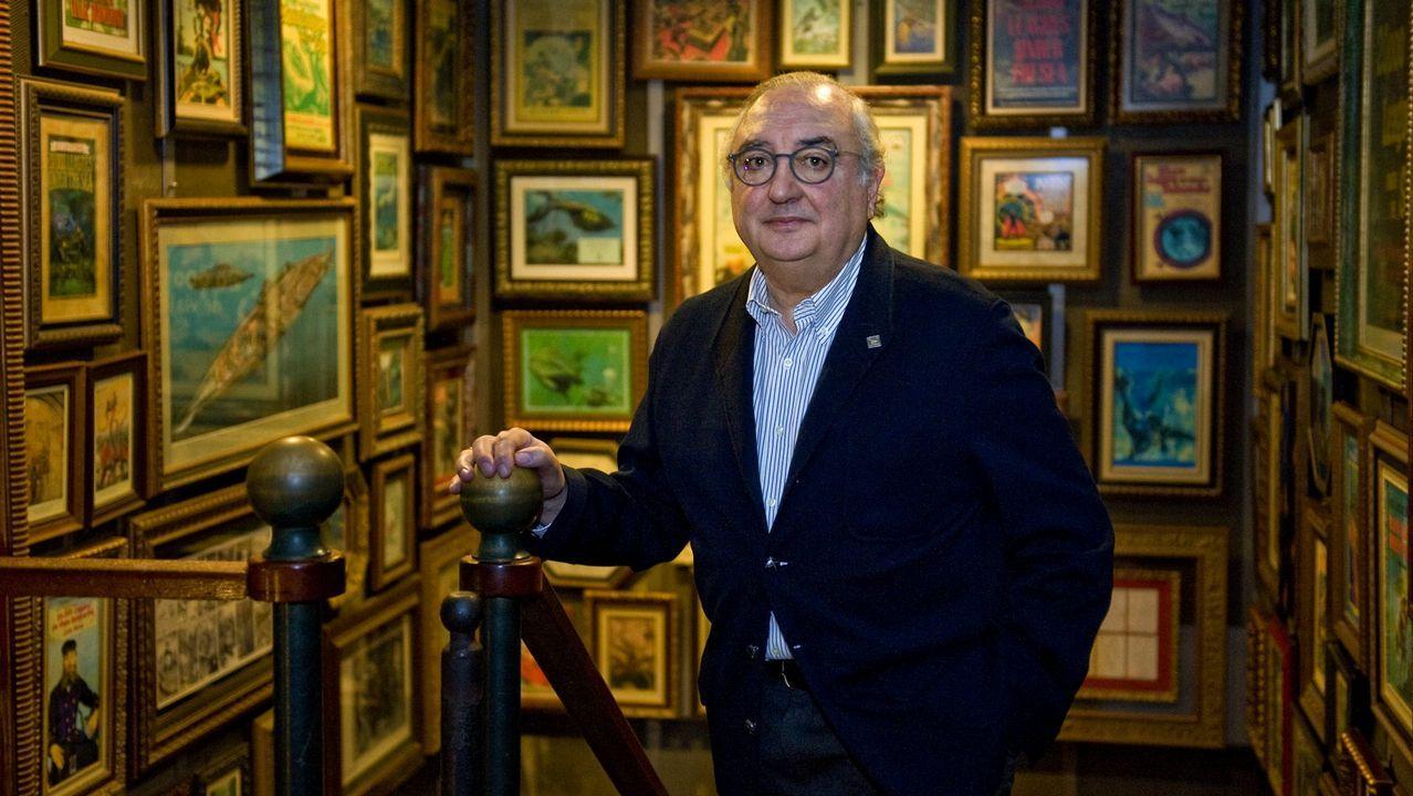 acuario.Moncho Núñez Centella fue el director de los Museos Científicos Coruñeses y también el responsable de su diseño