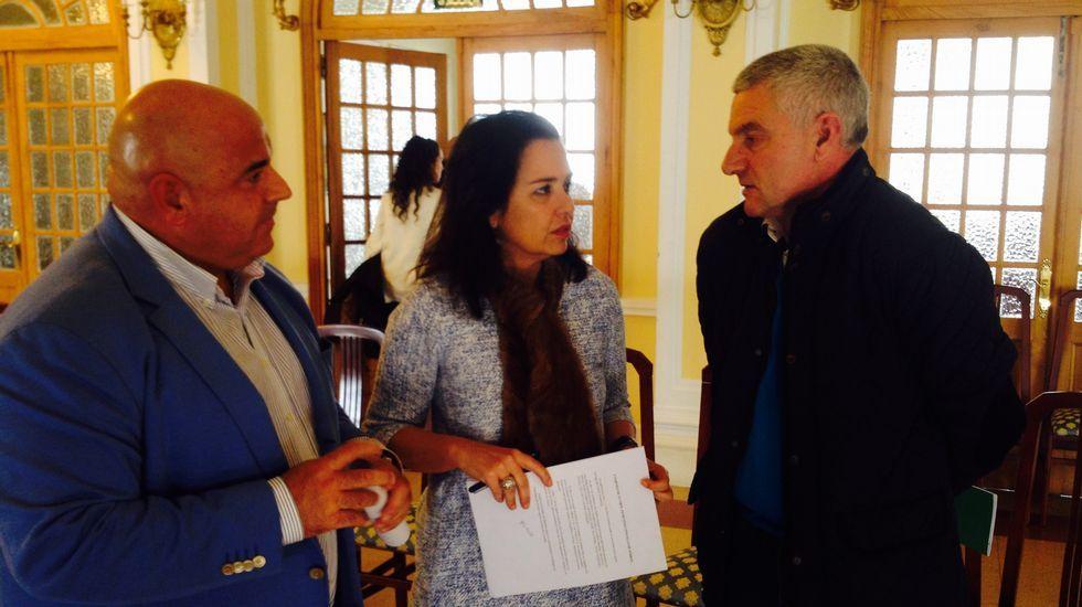 Pablo Prieto, Susana Martínez y Manolo Mesa