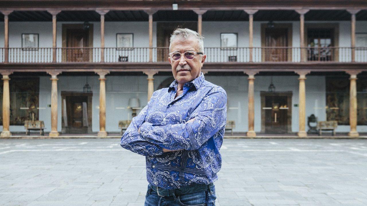 Moal, Pueblo Ejemplar 2018.El director de escena Emilio Sagi en el Hotel Reconquista de Oviedo