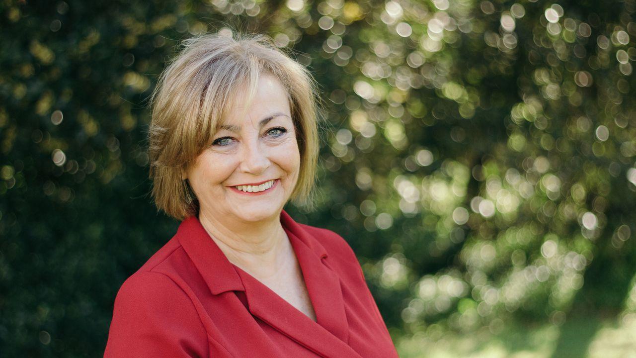 La alcaldesa de Avilés, Mariví Monteserín.Mariví Monteserín, candidata del PSOE a la Alcaldía de Avilés