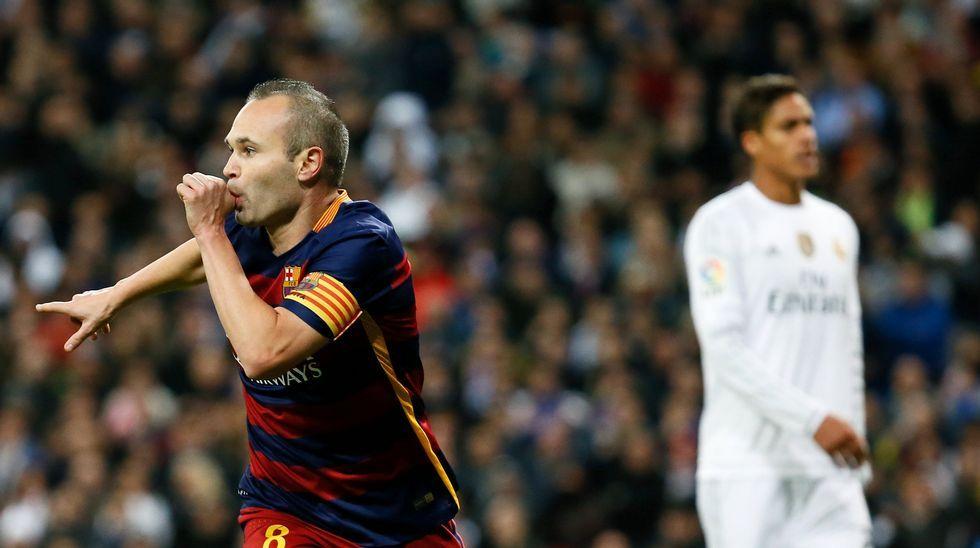 El Real Madrid-Barcelona, en fotos