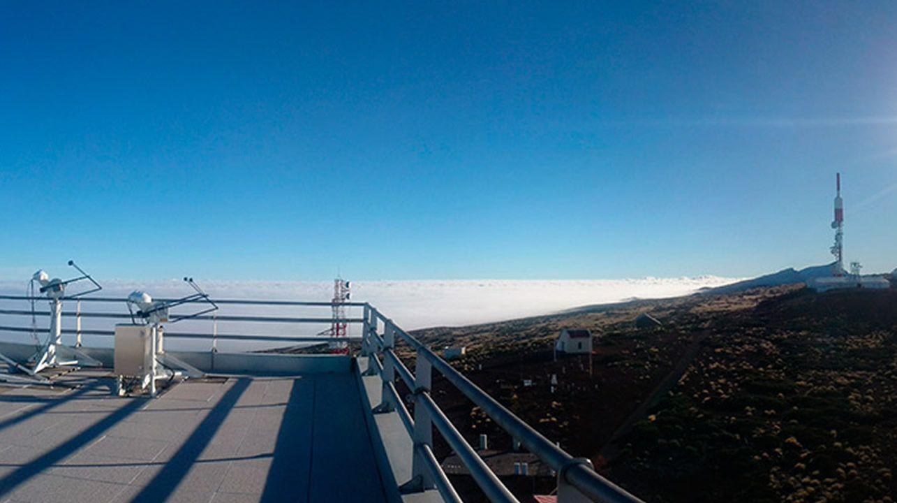 El observatorio de Izaña registra la evolución del CO2 desde 1984