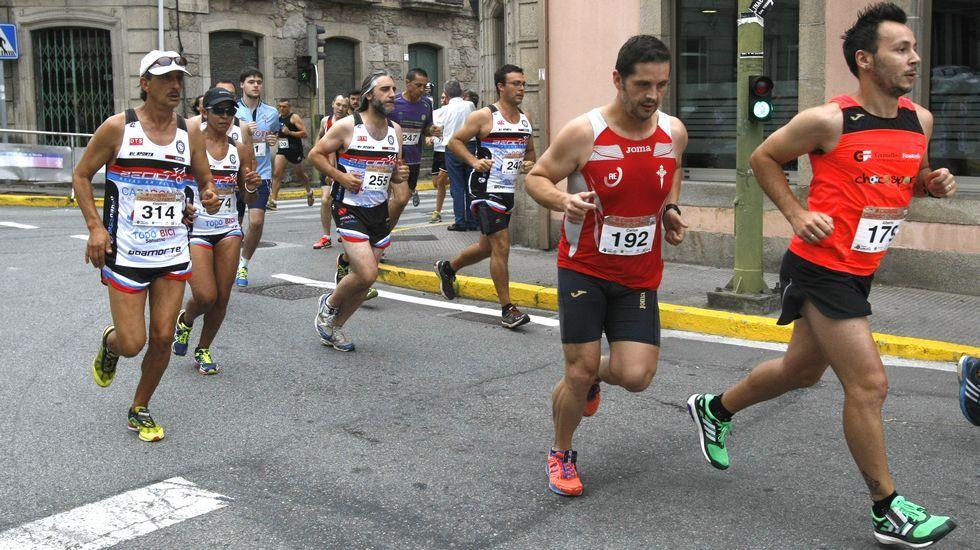 Búscate en la carrera do Carneiro ó Espeto de Moroña.Jorge Rodríguez no seguirá jugando en el Pontevedra la próxima campaña en Segunda B.