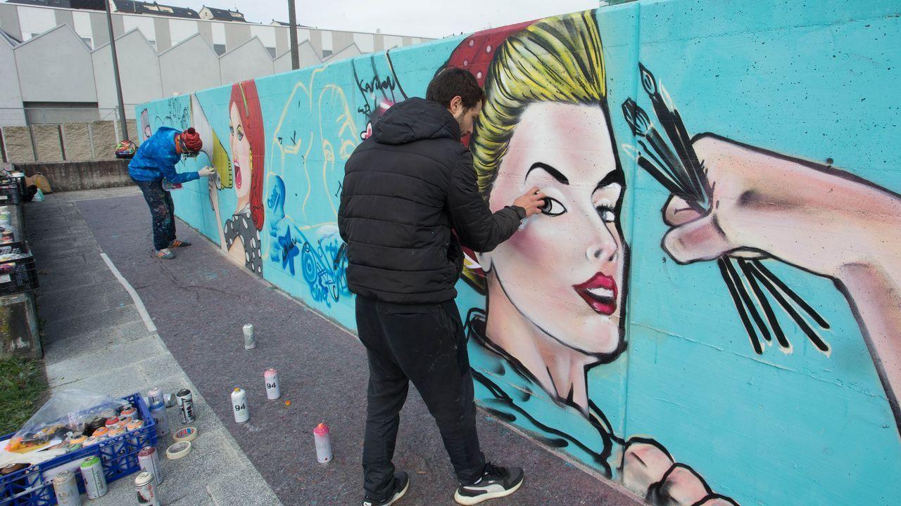 El feminismo artístico llega a los espacios urbanos de la ciudad