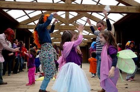 Imagen de una actividad organizada en Escola de Familias durante el curso pasado
