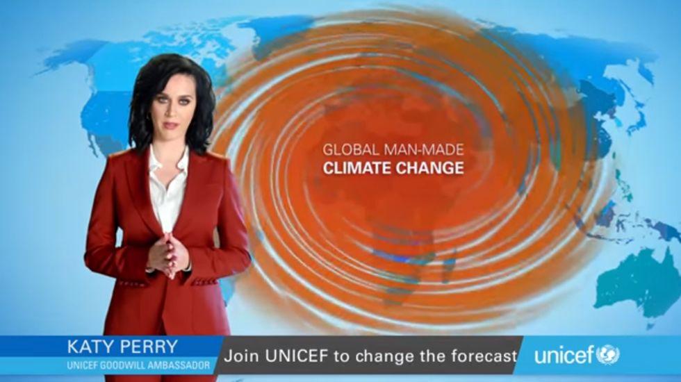 Katy Perry, nueva imagen de una campaña contra el cambio climático