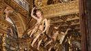 Así quedó el interior de la catedral de Santiago tras las obras de restauración